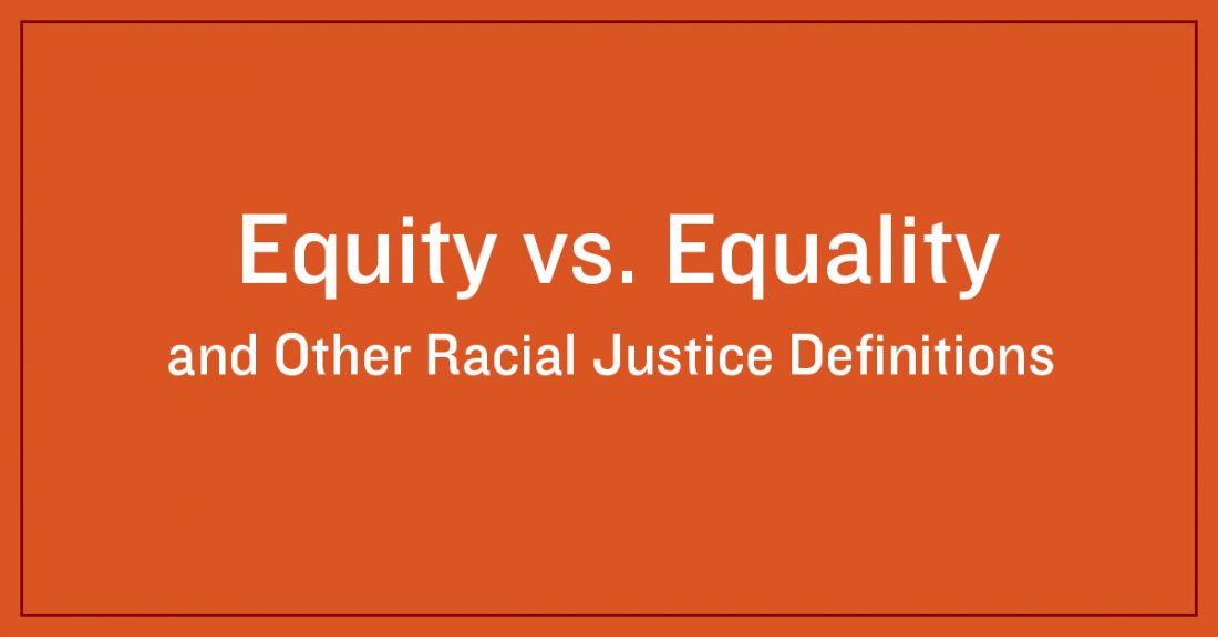Image depicting equality vs equity