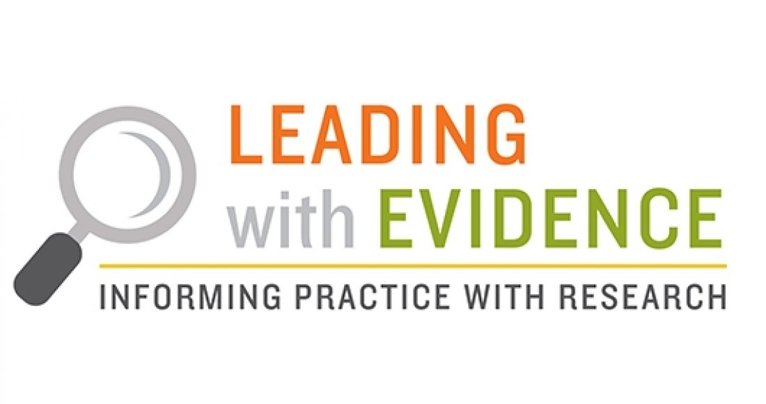 Leading with evidence and informing practice with research