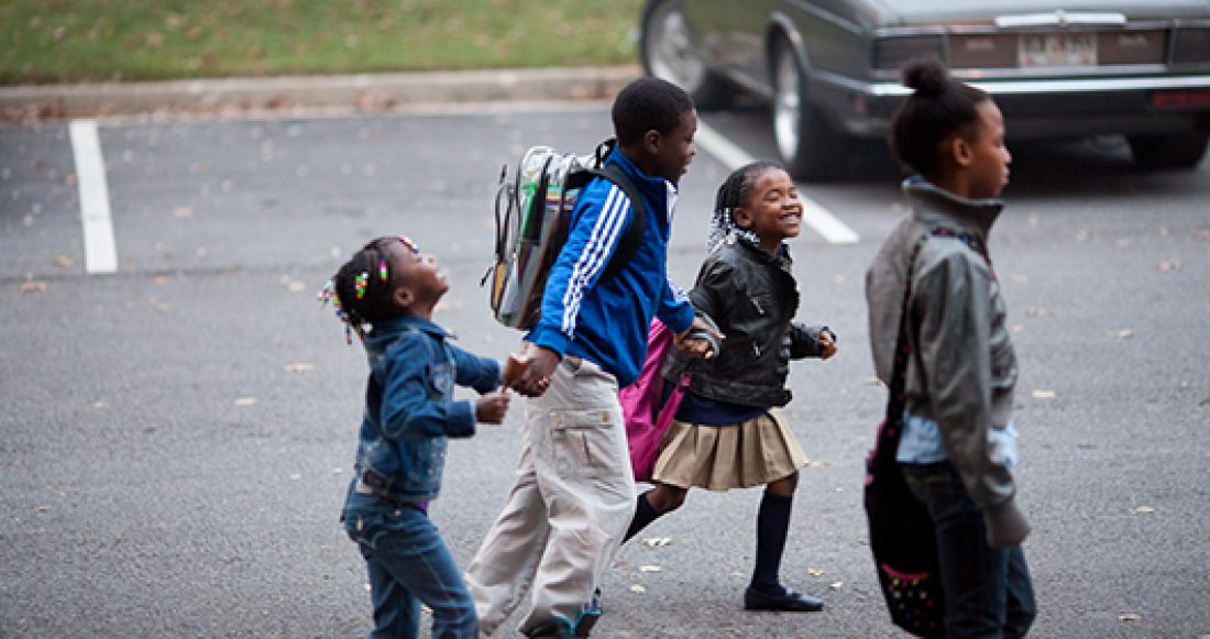 African American school-age children in Atlanta