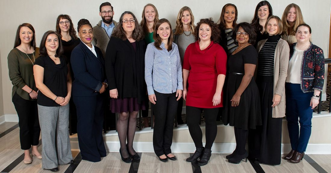 Members of the 2018–19 Children's Health Leadership Network from the Casey Foundation