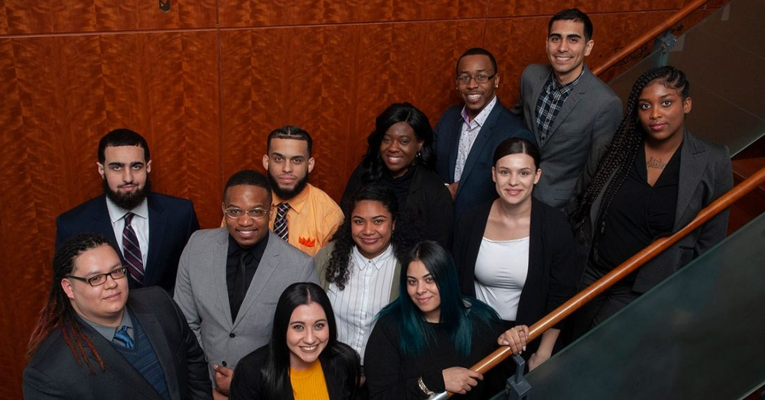 Members of the Annie E. Casey Foundation's Juvenile Justice Youth Advisory Council