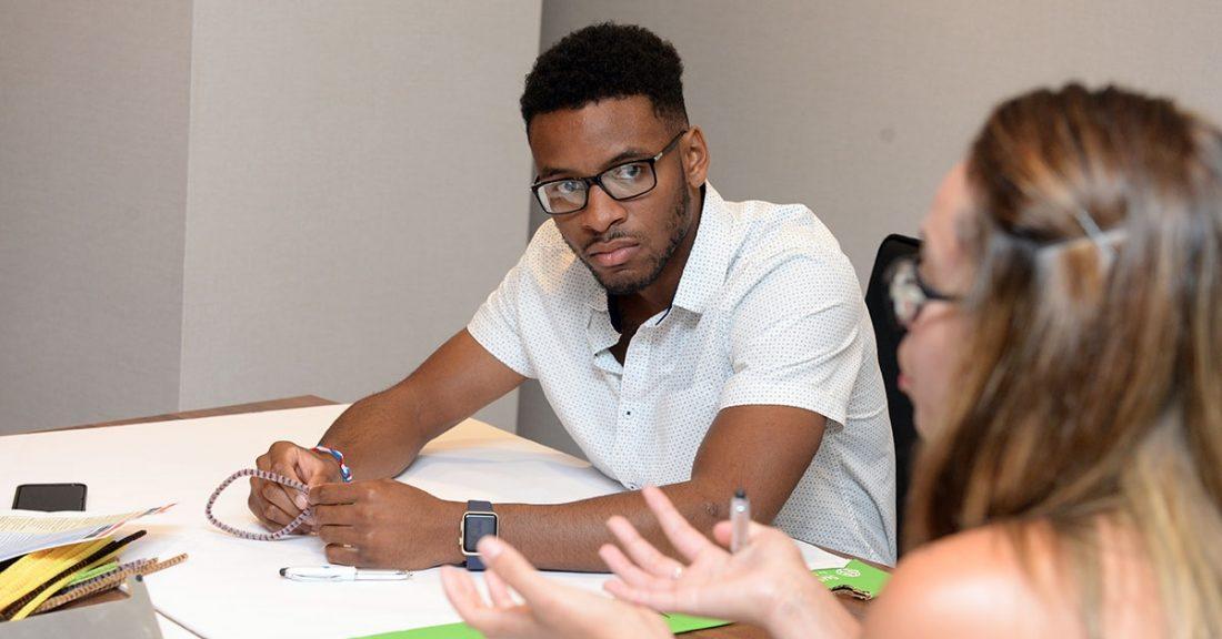 Malik Jones, a Jim Casey Initiative Young Fellow