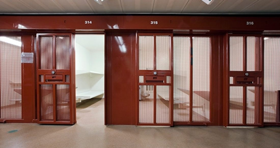 A cell in a juvenile detention facility.