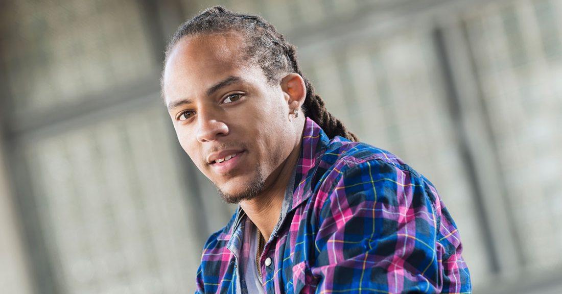 Multiracial young man