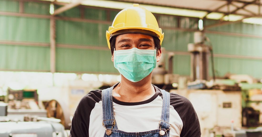 Young person in the construction industry