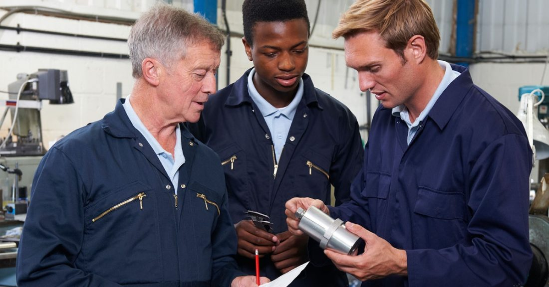 Quality apprenticeships help young people connect with economic opportunity