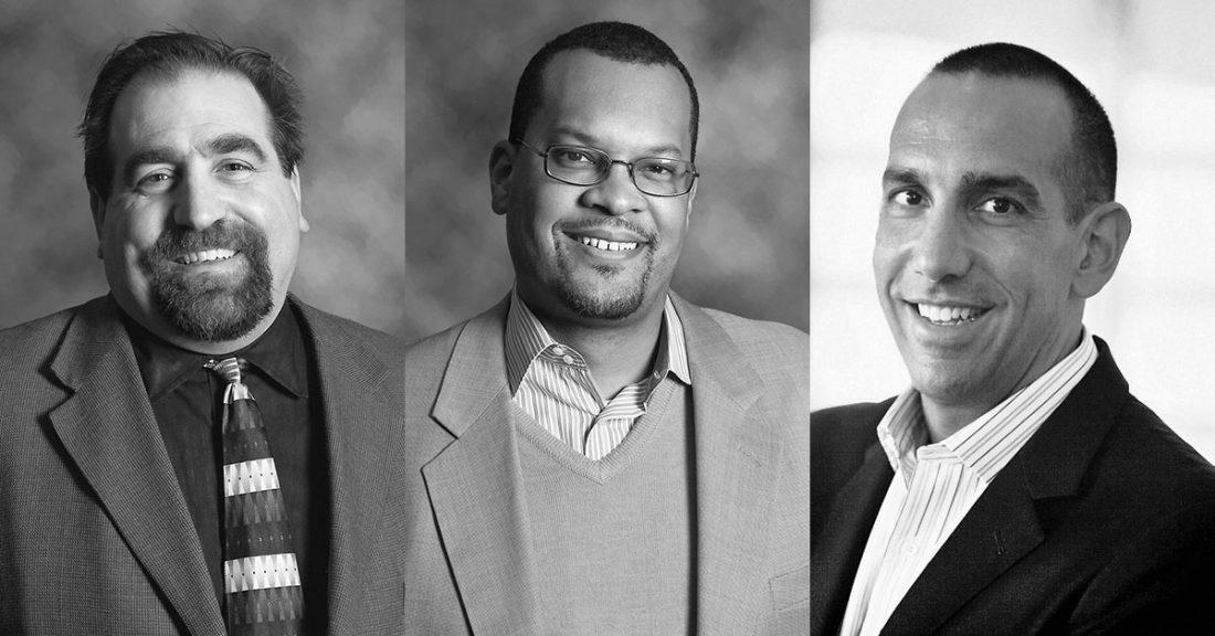 Douglas B. Ammar, Fred Blackwell and Daniel Cardinali