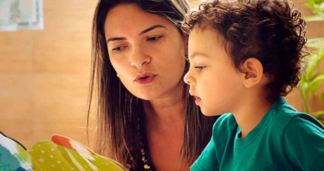 Data on parents who read aloud to their children.