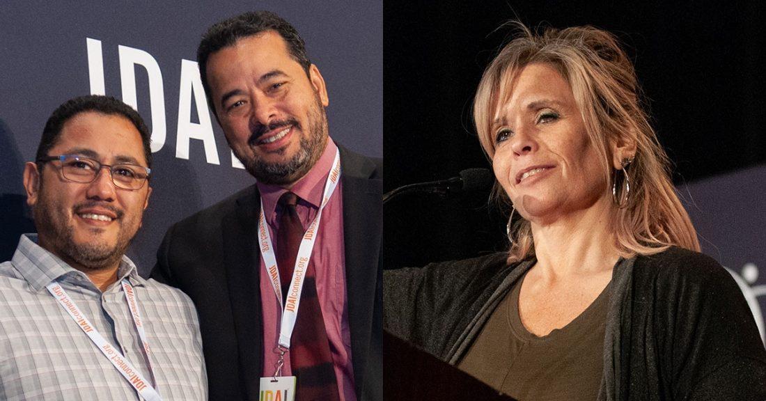 Frankie Guzman, David Brown and Lynn Ausley