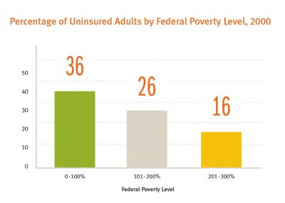 CSSP Policy Matters Uninsured Adults Image 2003