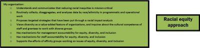Aecf Advancingthe Mission RESPECT equityapproach