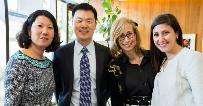 Erica Fener Sitkoff (far right)
