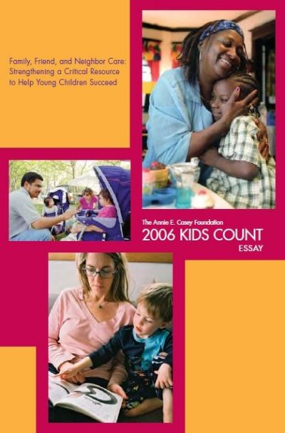 AECF 2006 Kids Count Essay Cover