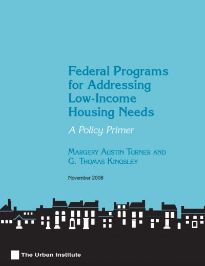 AECF 2008 Federal Programsfor Low Income Housing