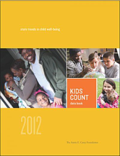 AECF 2012 KIDSCOUNT Data Book Cover