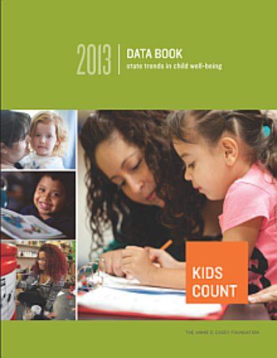 AECF 2013 KIDSCOUNT Data Book 2013 Cover