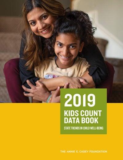 Aecf 2019kidscountdatabook cover 2019