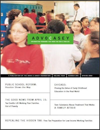 AECF Advocasey Spring2002 cover