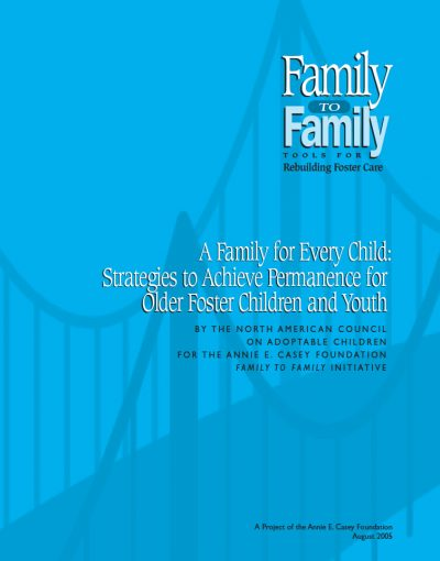 AECF A Family For Every Child 2005 Cover
