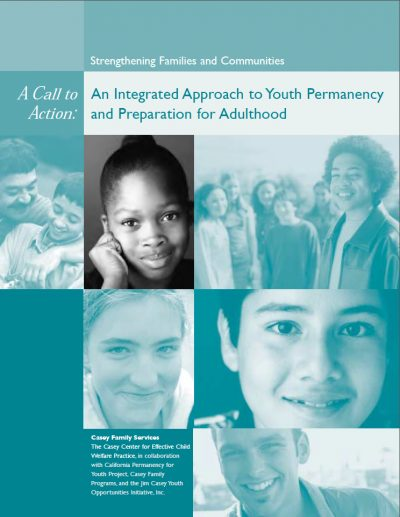 AECF An Integrated Approachto Youth Permanency 2005 Cover