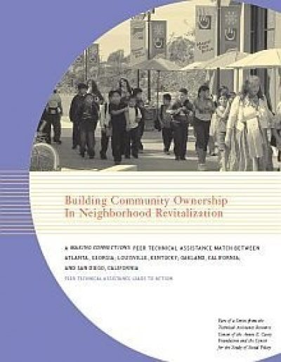 AECF Building Community Ownership 2005 Cover