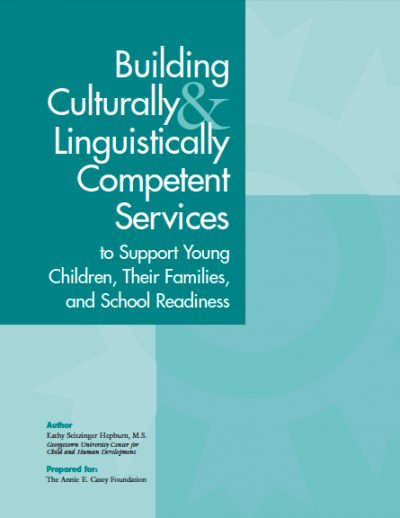 AECF Building Culturally Lingustically Competent Services 2004