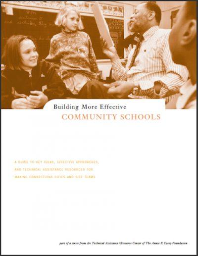AECF Building More Effective Schools 2000 cover