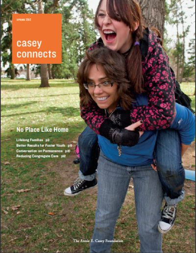 AECF Casey Connects No Place Like Home S2012 cover