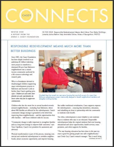 AECF Casey Connects Responsible Redevelopment 2008 cover