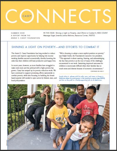 AECF Casey Connects Shininga Lighton Poverty 2008 cover