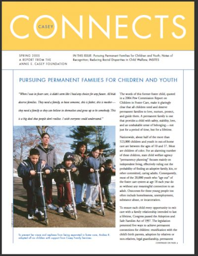 AECF Casey Connects Spring2005 cover