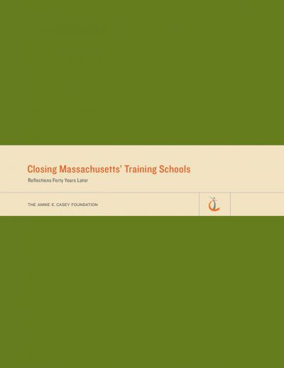AECF Closing Massachusetts Training Schools Cover 2014