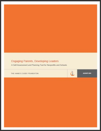 AECF Engaging Parents Developing Leaders 2016 cover