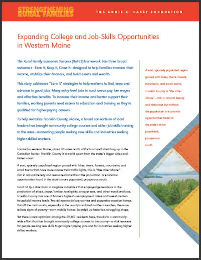 AECF Expanding Collegeand Job Skills 2008 cover