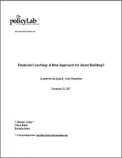 AECF Financial Coaching 2007 Cover