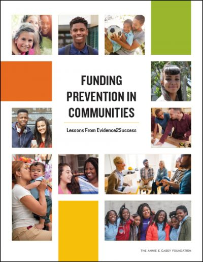 Cover image for Funding Prevention in Communities report