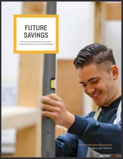 Future Savings report cover