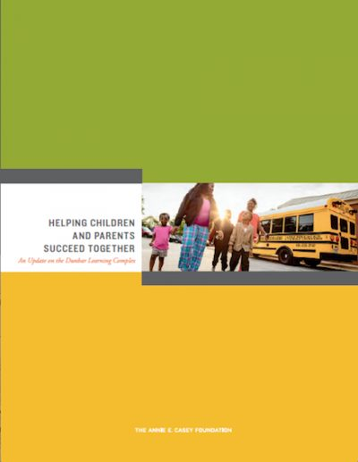 AECF Helping Childrenand Parents Succeed 2017 cover