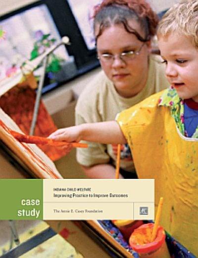 AECF Indiana Child Welfare 2012 Cover