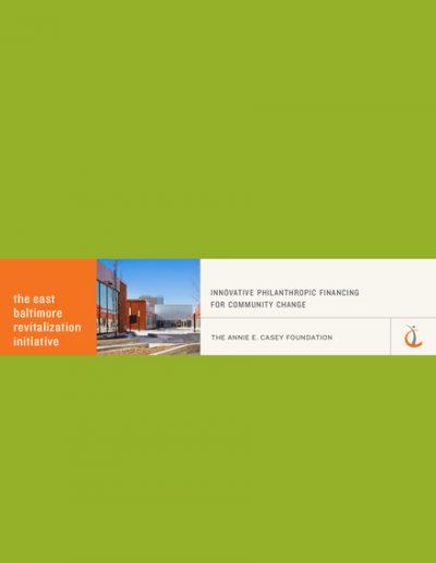 Aecf innovativephilanthropicfinancing 2014