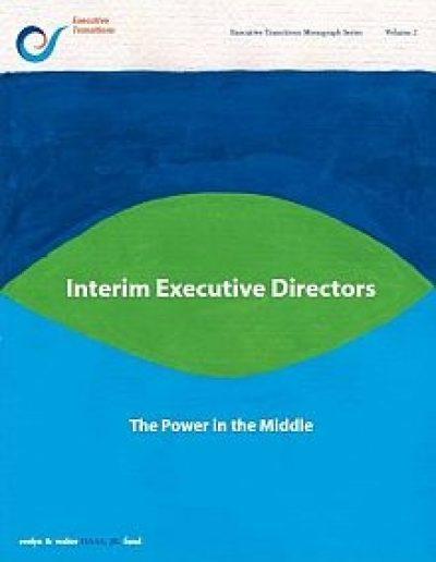 AECF Interim Executive Directors 2005 Cover