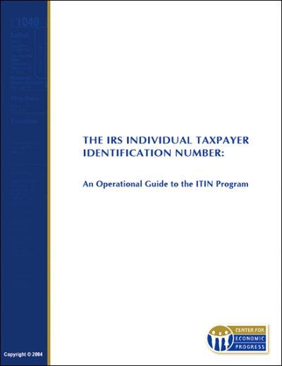 AECF IRS Individual taxpayer ID 2004