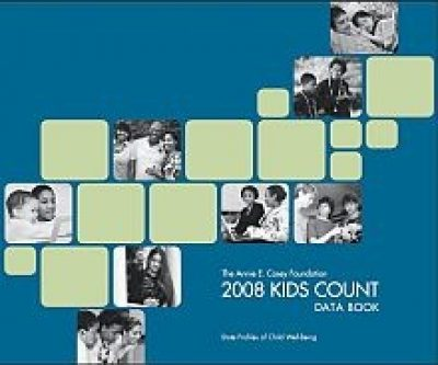 AECF Kids Count Data Book 2008 Cover