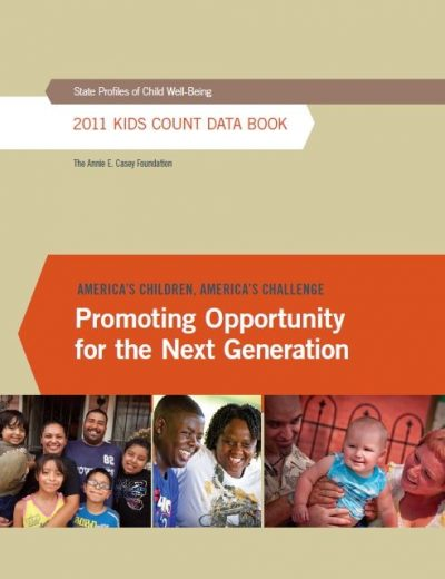 AECF Kids Count Data Book 2011 Cover