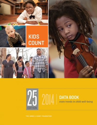 2014 KIDS COUNT Data Book cover