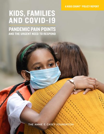 Kids, Families and COVID-19 report cover