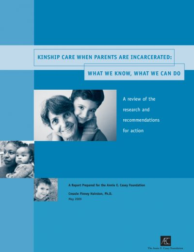 AECF Kinship Care When Parents Are Incarcerated 2009 Cover