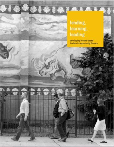 Aecf Lending Learning Leading cover