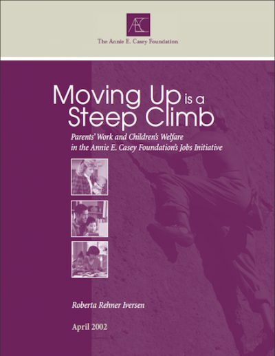 AECF Moving Upis A Steep Climb 2002 cover