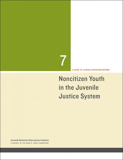 Aecf Noncitizen Youthinthe JJ System Cover 2014